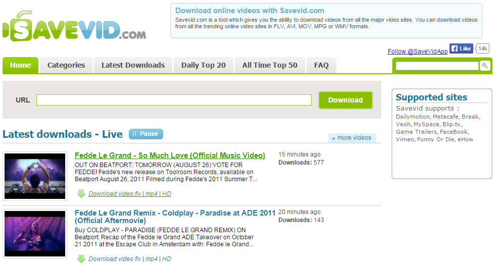 Online Video Downloader - Free downloads and
